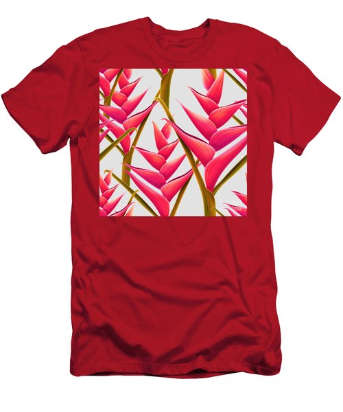 Flowers Fantasia   Men's T-Shirt (Athletic Fit)