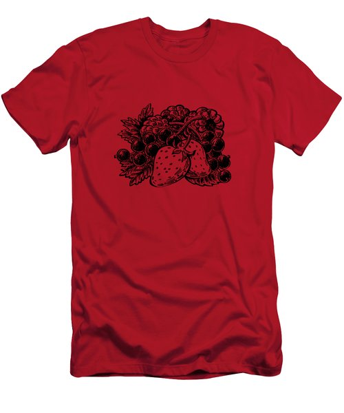 Forest Berries Men's T-Shirt (Athletic Fit)