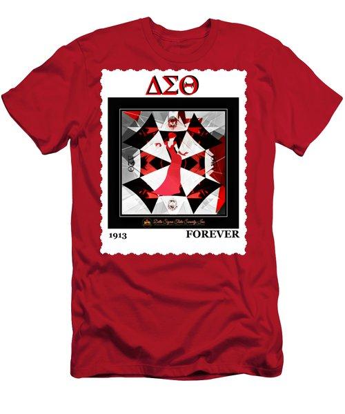 Forever Delta  Men's T-Shirt (Slim Fit) by Lynda Payton