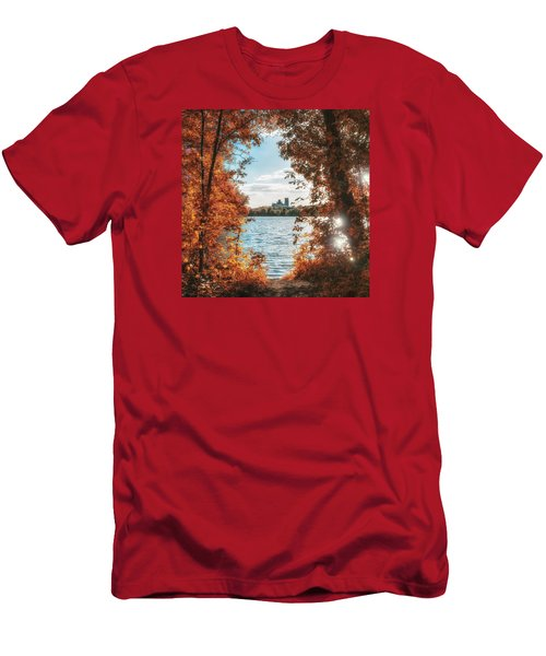 Men's T-Shirt (Athletic Fit) featuring the photograph Framed by James Billings