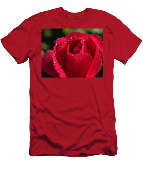 Fresh Rose Men's T-Shirt (Athletic Fit)