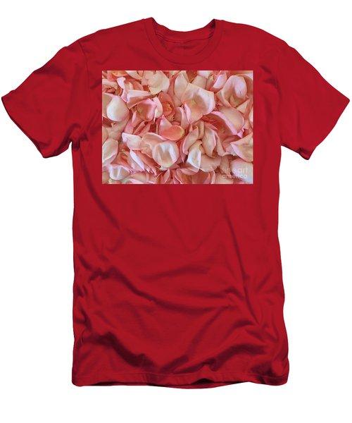Fresh Rose Petals Men's T-Shirt (Athletic Fit)