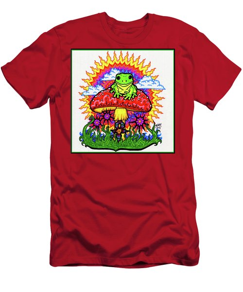 Froggy For Mukunda Men's T-Shirt (Athletic Fit)
