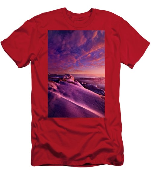 Men's T-Shirt (Slim Fit) featuring the photograph From Inside The Heart Of Each by Phil Koch