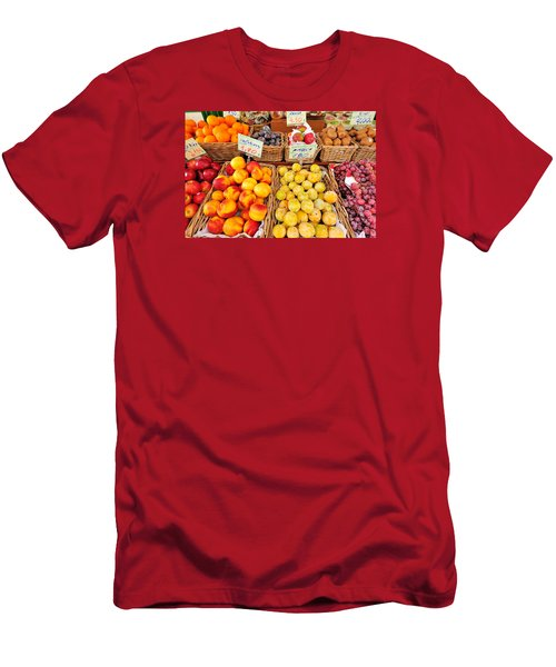 Fruits Men's T-Shirt (Slim Fit) by Marwan Khoury