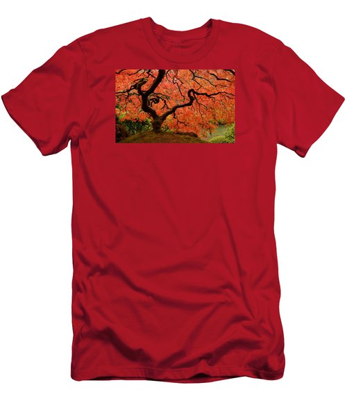 Fuego Men's T-Shirt (Slim Fit) by Don Schwartz