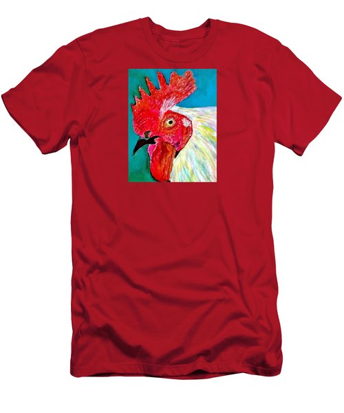 Funky Rooster Men's T-Shirt (Athletic Fit)