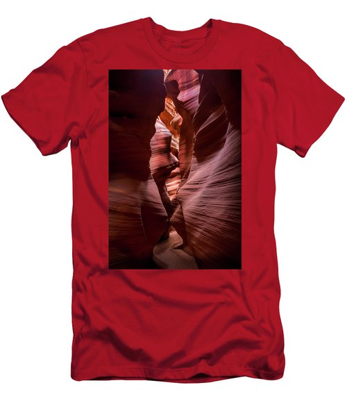 Men's T-Shirt (Slim Fit) featuring the photograph Further In The Canyon by Jon Glaser