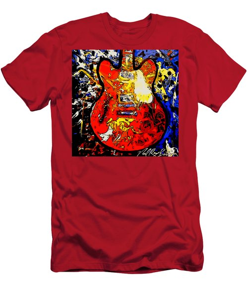 gibson ES-335 rework Men's T-Shirt (Athletic Fit)