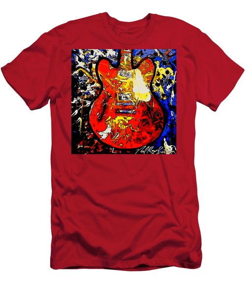 gibson ES-335 rework Men's T-Shirt (Athletic Fit)