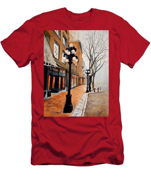 Gastown, Vancouver Men's T-Shirt (Slim Fit) by Sher Nasser