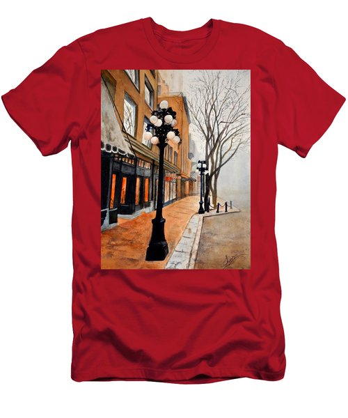 Gastown, Vancouver Men's T-Shirt (Athletic Fit)