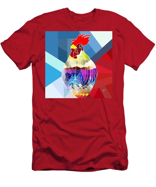 Geo Doodle Doo Men's T-Shirt (Athletic Fit)