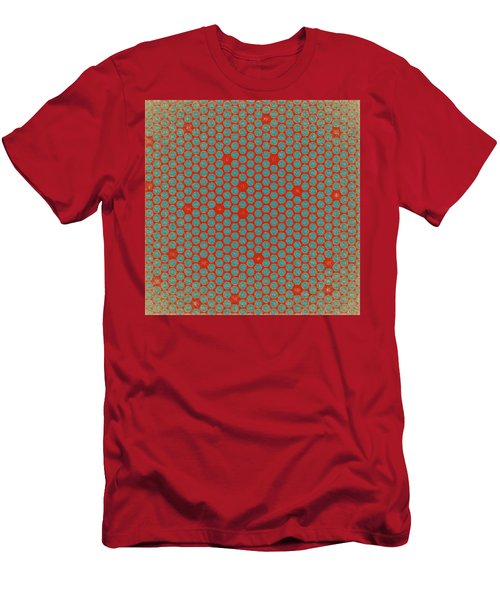 Men's T-Shirt (Slim Fit) featuring the digital art Geometric 2 by Bonnie Bruno