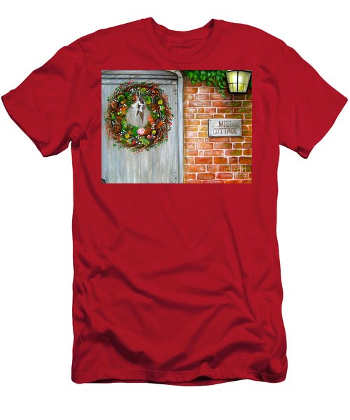 George Michaels Mill Cottage Men's T-Shirt (Athletic Fit)