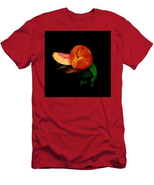Georgia Peach Men's T-Shirt (Athletic Fit)