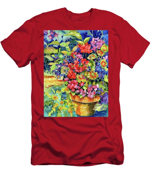 Geranium I Men's T-Shirt (Athletic Fit)