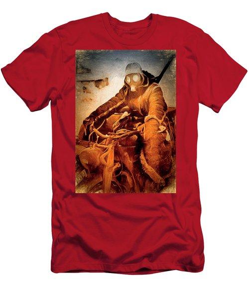 German Biker Men's T-Shirt (Slim Fit) by Michael Cleere