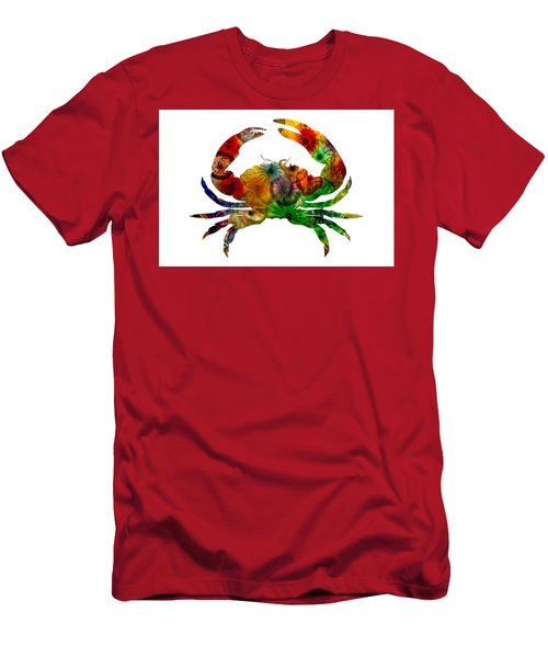 Glass Crab Men's T-Shirt (Athletic Fit)
