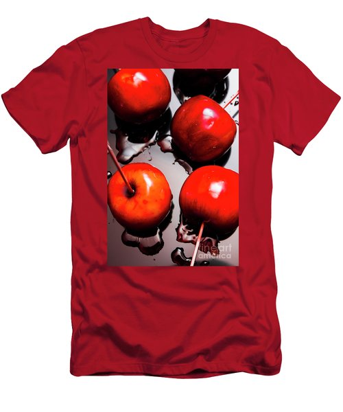Gleaming Red Candy Apples Men's T-Shirt (Athletic Fit)