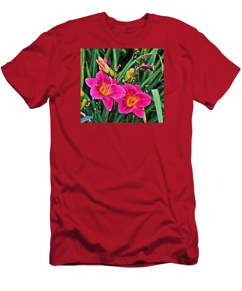 Glorious Daylilies Men's T-Shirt (Athletic Fit)