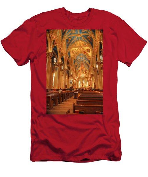God Do You Hear Me Men's T-Shirt (Athletic Fit)