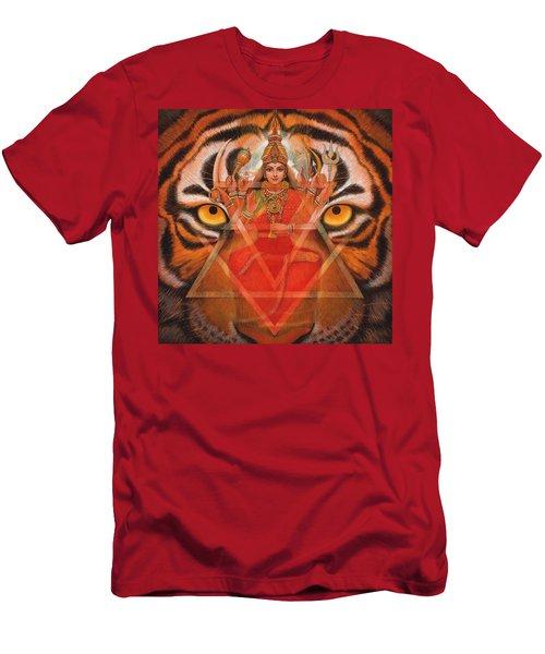 Goddess Durga Men's T-Shirt (Athletic Fit)