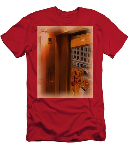 Going Down? Men's T-Shirt (Athletic Fit)