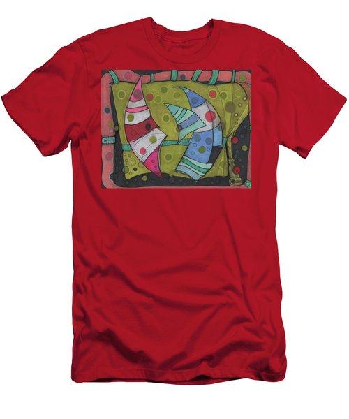 Going In Circles Men's T-Shirt (Slim Fit) by Sandra Church