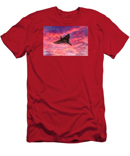 Going Out In A Blaze Of Glory Men's T-Shirt (Slim Fit) by Gary Eason