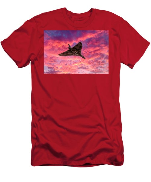 Going Out In A Blaze Of Glory Men's T-Shirt (Athletic Fit)