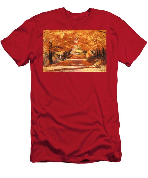Golden Autumn Men's T-Shirt (Athletic Fit)