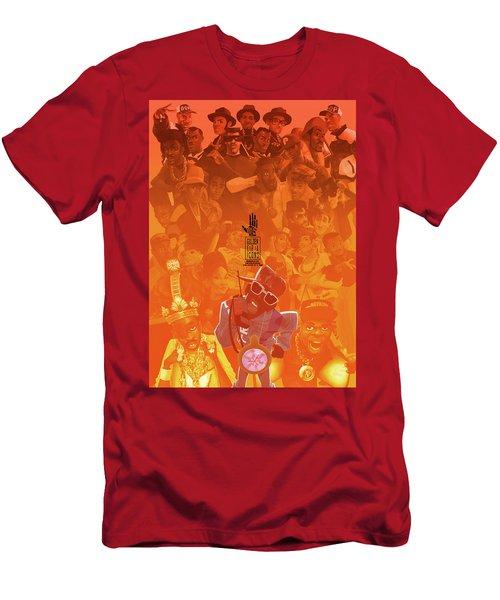 Golden Era Icons Collage 1 Men's T-Shirt (Athletic Fit)