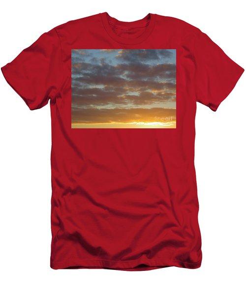 Golden Glow Florida Sunset. Men's T-Shirt (Athletic Fit)