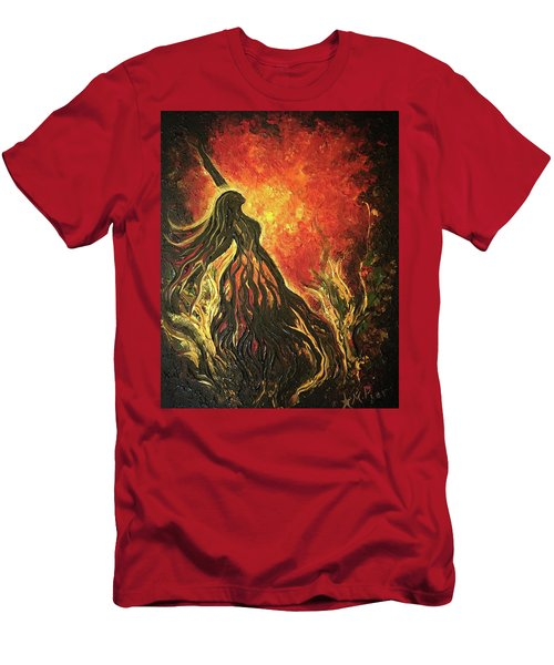 Golden Goddess Men's T-Shirt (Athletic Fit)
