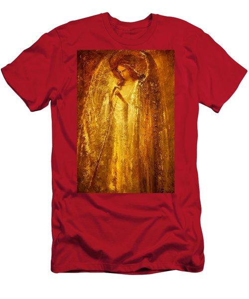 Golden Light Of Angel Men's T-Shirt (Athletic Fit)