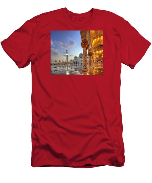 Golden Temple Men's T-Shirt (Slim Fit) by John Swartz