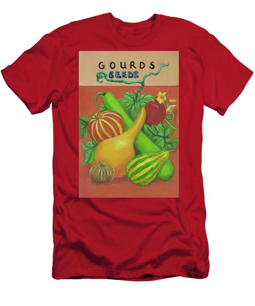 Gourd Orange Men's T-Shirt (Athletic Fit)