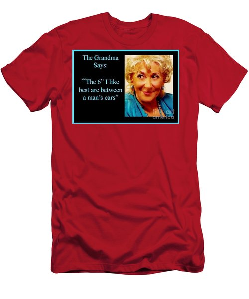 Grandma Says Men's T-Shirt (Athletic Fit)