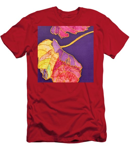 Grape Leaves Men's T-Shirt (Athletic Fit)
