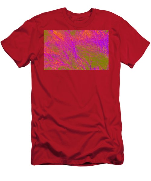 Grass Abstract 4 Men's T-Shirt (Athletic Fit)