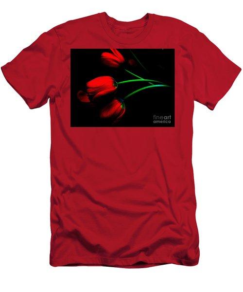 Gratitude Men's T-Shirt (Slim Fit) by Elfriede Fulda