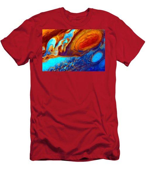 Jovian Turbulence Men's T-Shirt (Athletic Fit)