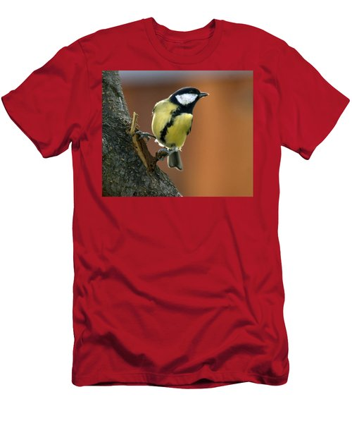 Great Tit  Men's T-Shirt (Athletic Fit)