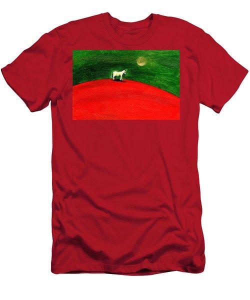 Green Night Men's T-Shirt (Athletic Fit)