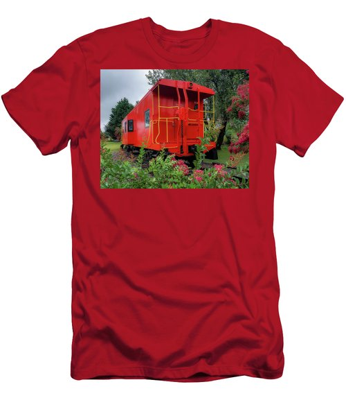 Gretna Railroad Park Men's T-Shirt (Athletic Fit)
