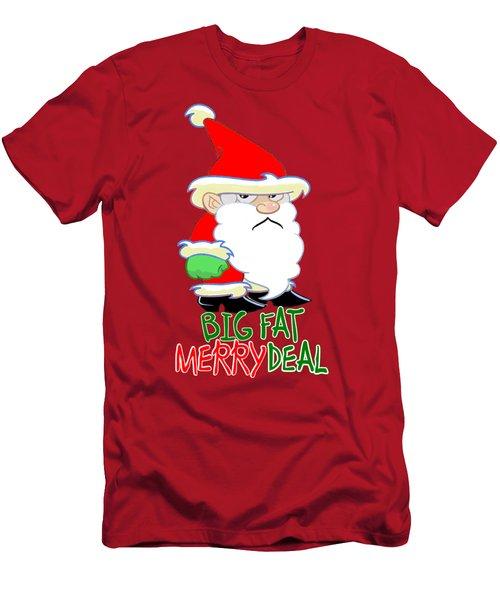 Grumpy Santa Men's T-Shirt (Athletic Fit)