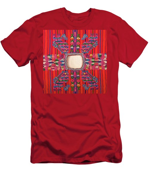 Guatemalan Arts And Crafts Men's T-Shirt (Athletic Fit)