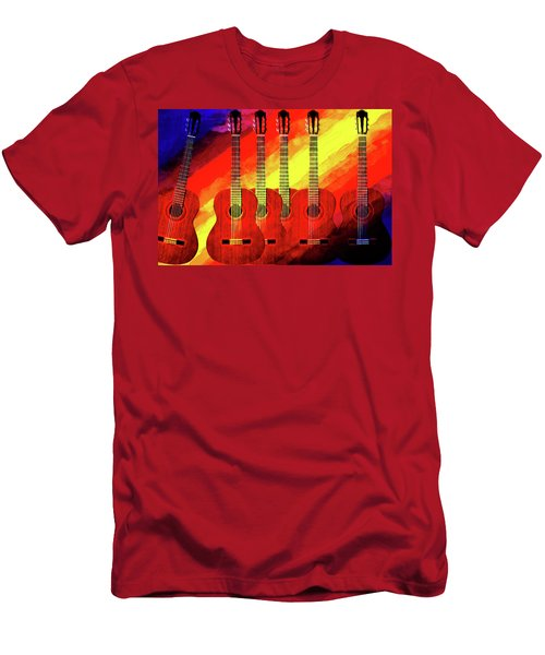 Guitar Fantasy One Men's T-Shirt (Athletic Fit)