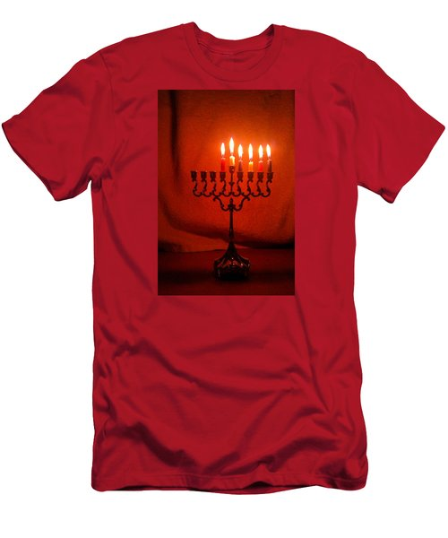 Hanukkah On Fifth Day Men's T-Shirt (Athletic Fit)